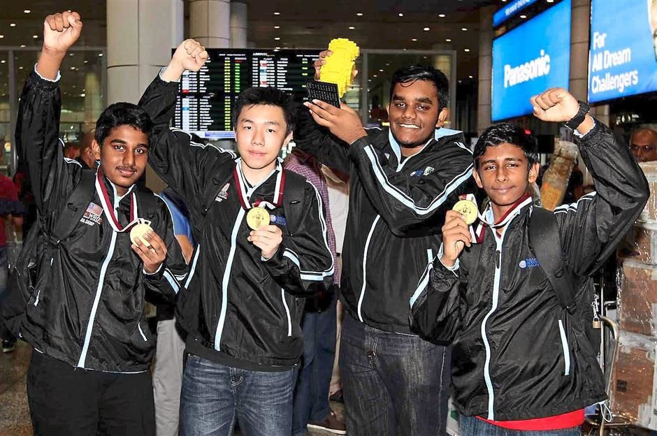 Kids who won Robotics Champions competition malaysia